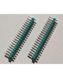 Colored Pin Headers / TEAL