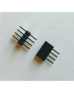 Very Low Profile 4Pin 1mm-Pitch stacking connectors (1 pair)
