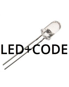 Transponder IR-LED and code